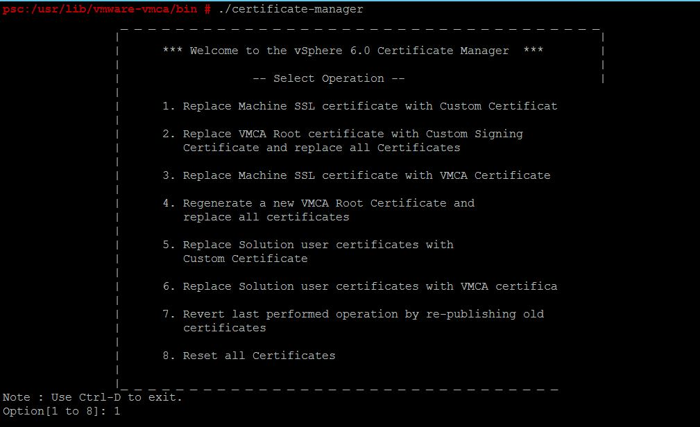 Replacing Vcsa Web Certificates It Is Just About Sharing