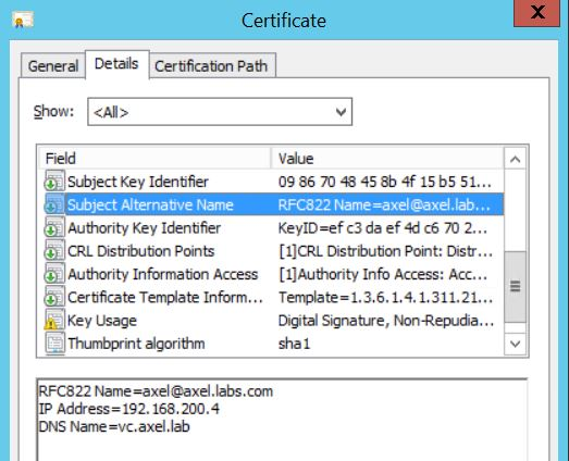 Replacing VCSA web certificates – It is just about sharing…